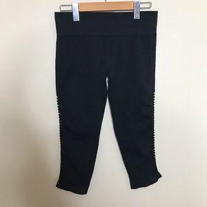 FABLETICS Basket Weave/ Criss Cross Leg Capri/Crop